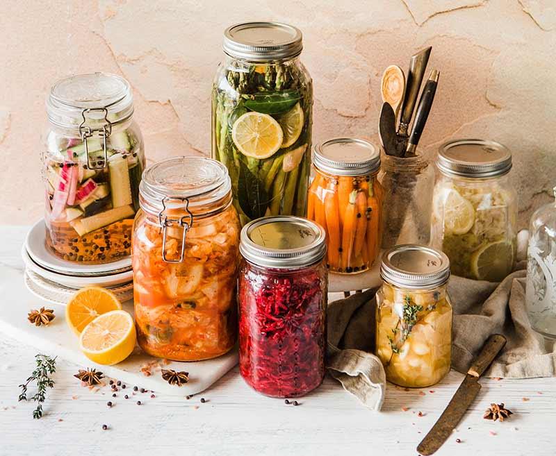 Gemüse einlegen